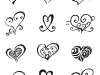 thumbs heart tattoo design 1 Heart Tattoo Designs