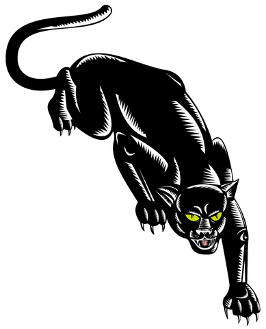 If it's a smaller design you're after then consider including the panther