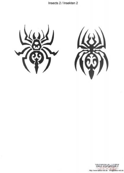 tribal_spiders